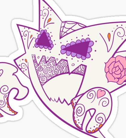 Haunter Pokemuerto | Pokemon & Day of The Dead Mashup Sticker