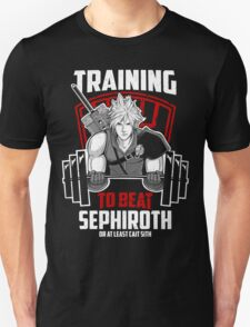 Training to beat Sephiroth T-Shirt