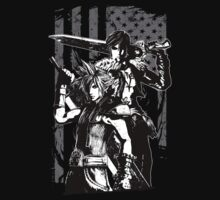 Cloud & Squall by clovervin