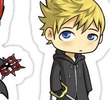 Axel, Roxas and Xion set Sticker