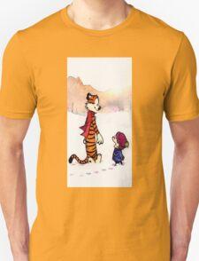 calvin and hobbes snow fuzz T-Shirt