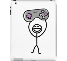 Gamer guy iPad Case/Skin