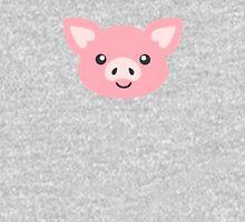 Cute Pig Mens V-Neck T-Shirt