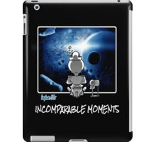 Captain Ufo / Incomparable Moments (white text) iPad Case/Skin