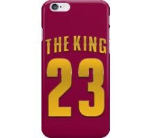 The King 23 Basketball Legend iPhone Case/Skin