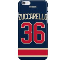 New York Rangers Mats Zuccarello Alternate Jersey Back Phone Case iPhone Case/Skin