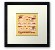 Bacon, Raw Framed Print