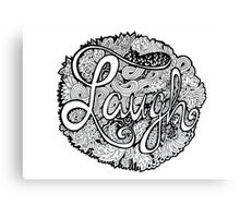 Laugh Canvas Print