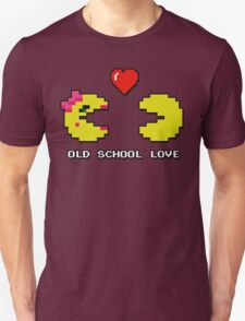 Old School Love - Ms. Pacman and Pac Man - Act I / Act One T-Shirt