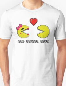 Old School Love - Ms. Pacman and Pac Man - Act I / Act One Unisex T-Shirt