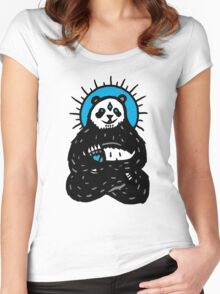 Spirit Panda Women's Fitted Scoop T-Shirt