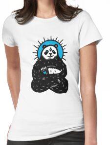 Spirit Panda Womens Fitted T-Shirt