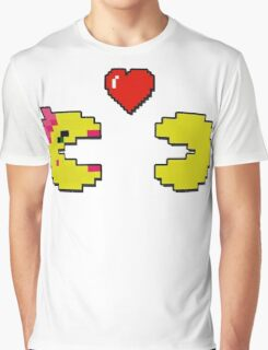 Old School Love - Ms. Pacman and Pac Man - Act I / Act One Graphic T-Shirt