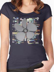 Flower 13 Women's Fitted Scoop T-Shirt