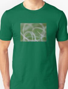 Abstract Image of Green Palm Leaves  Unisex T-Shirt