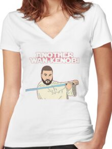 Dj Khaled - Another Wan-Kenobi  Women's Fitted V-Neck T-Shirt