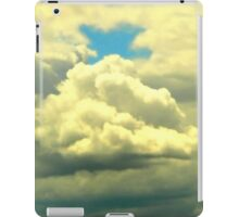 signs...a cross in the sky iPad Case/Skin