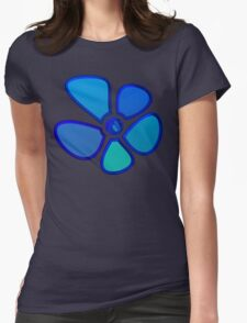 Flower 13 Womens Fitted T-Shirt