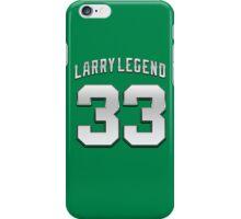 Larry Legend 33 Basketball Legend iPhone Case/Skin