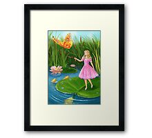 Thumbelina Framed Print