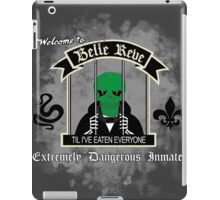 WELCOME TO BELLE REVE iPad Case/Skin