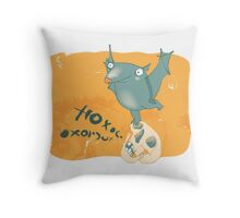 Boo.. Throw Pillow