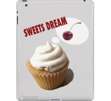 sweets dreams their sweet dreams- cup cake iPad Case/Skin