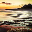 Bamburgh Castle Sunrise by David Lewins
