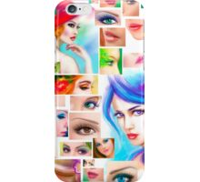 Womans abstract iPhone Case/Skin