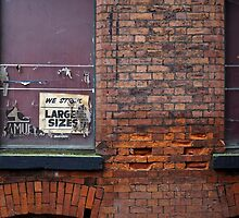 China Lane, Manchester by Nicholas Coates