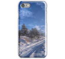 Wintry Road iPhone Case/Skin