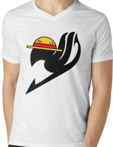 tail Mens V-Neck T-Shirt