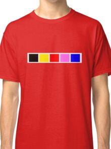 Power Rangers In Space 1 Classic T-Shirt