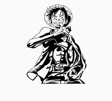 black white luffy Unisex T-Shirt