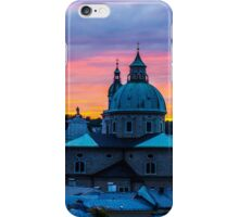 Sunset in Salzburg iPhone Case/Skin