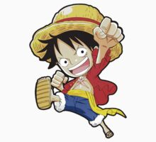 chibi luffy Kids Clothes