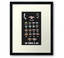 Power Rangers 20th Anniversary Framed Print