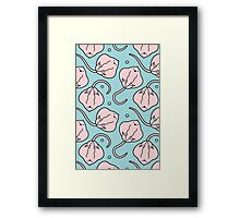 Stingray Babies Framed Print
