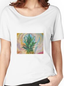 Dreaming of Pineapples Women's Relaxed Fit T-Shirt