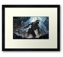 spartan chief  Framed Print