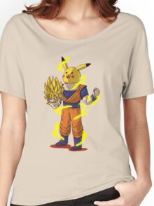 Goku Super Saiyan Unmasked Women's Relaxed Fit T-Shirt
