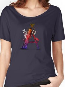 Letter A Women's Relaxed Fit T-Shirt
