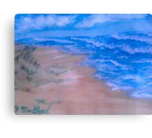 Small Seaside Dune Canvas Print