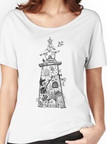 There's a Lighthouse in there Somewhere! Women's Relaxed Fit T-Shirt