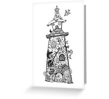 There's a Lighthouse in there Somewhere! Greeting Card