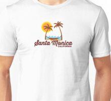 Santa  Monica. Unisex T-Shirt