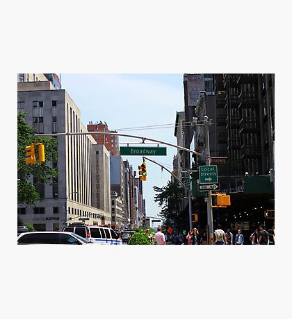 Broadway Photographic Print