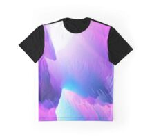 cool abstract design purple Graphic T-Shirt