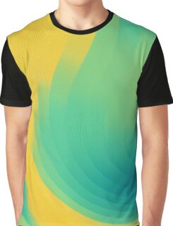 cool abstract design yellow Graphic T-Shirt