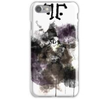 Watchmen- Rorschach Watercolor Portrait iPhone Case/Skin